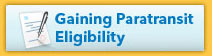 Gaining Paratransit Eligibility