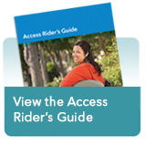 View the Access Rider's Guide